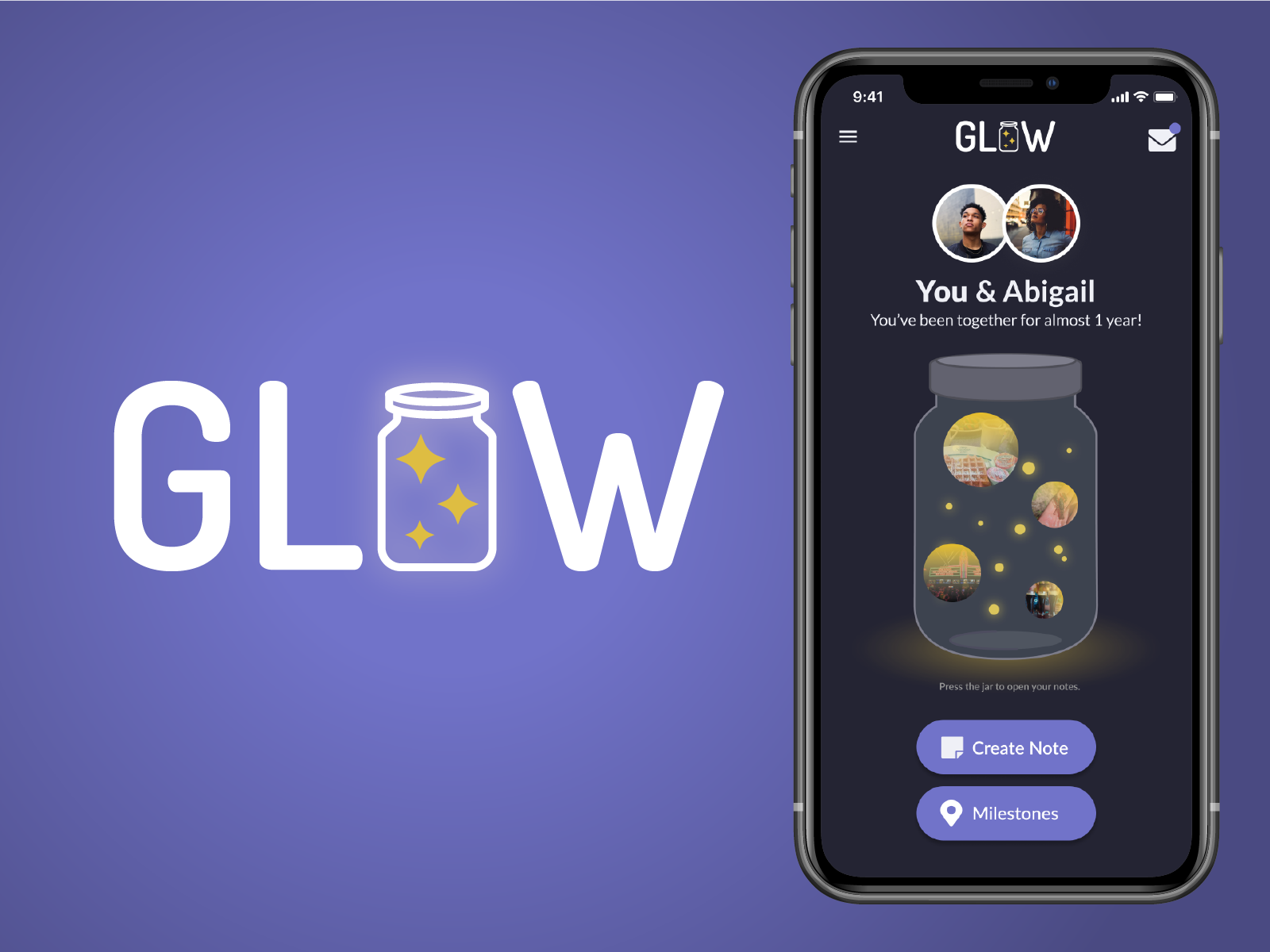 Preview of Glow project interface