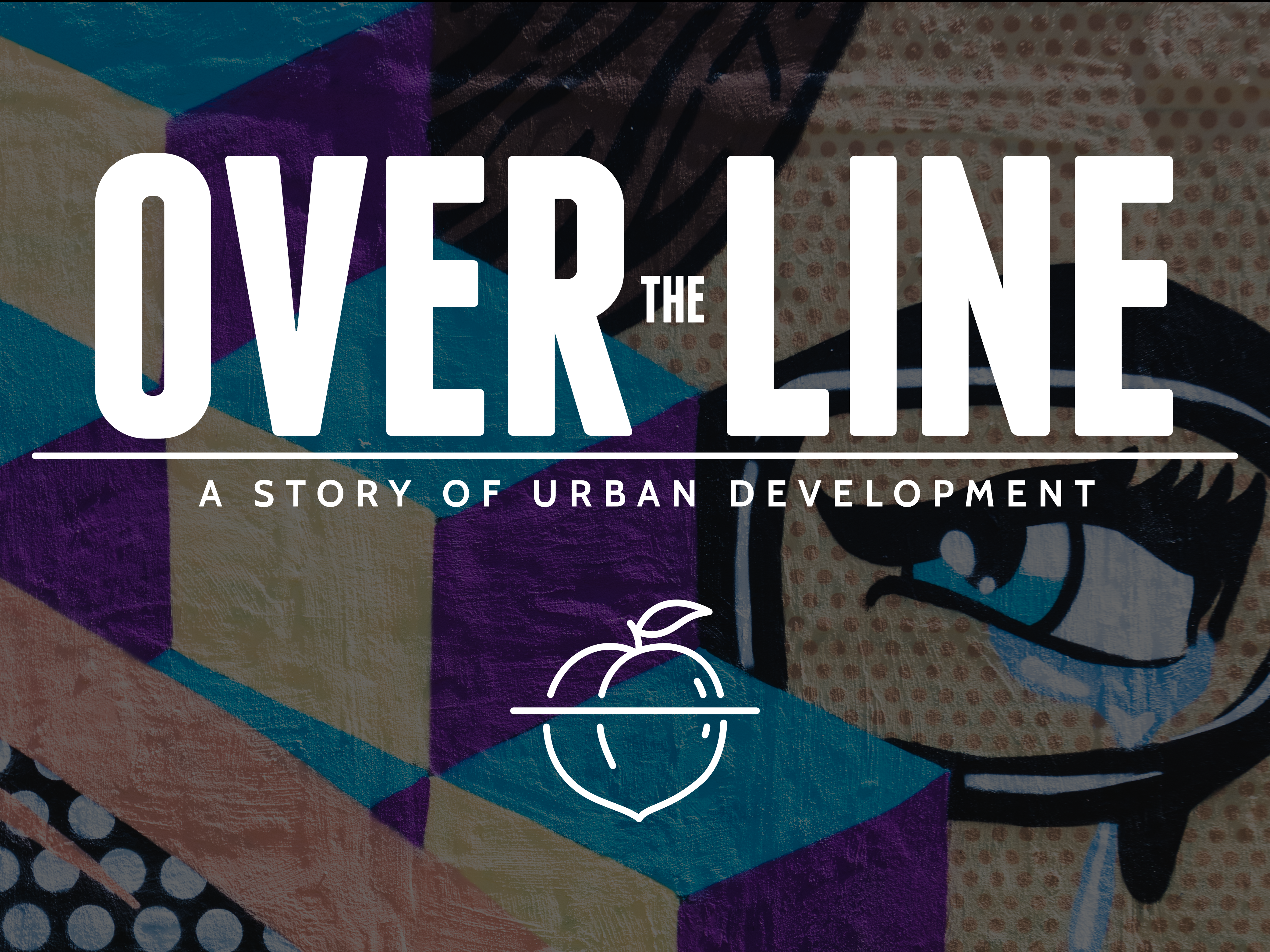 Over The Line logo and tagline